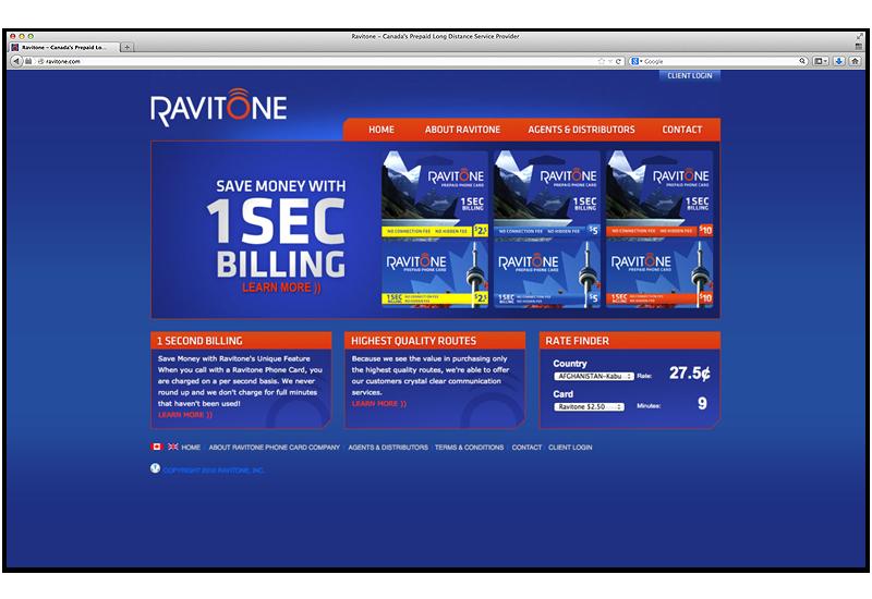 RAVITONE INC company